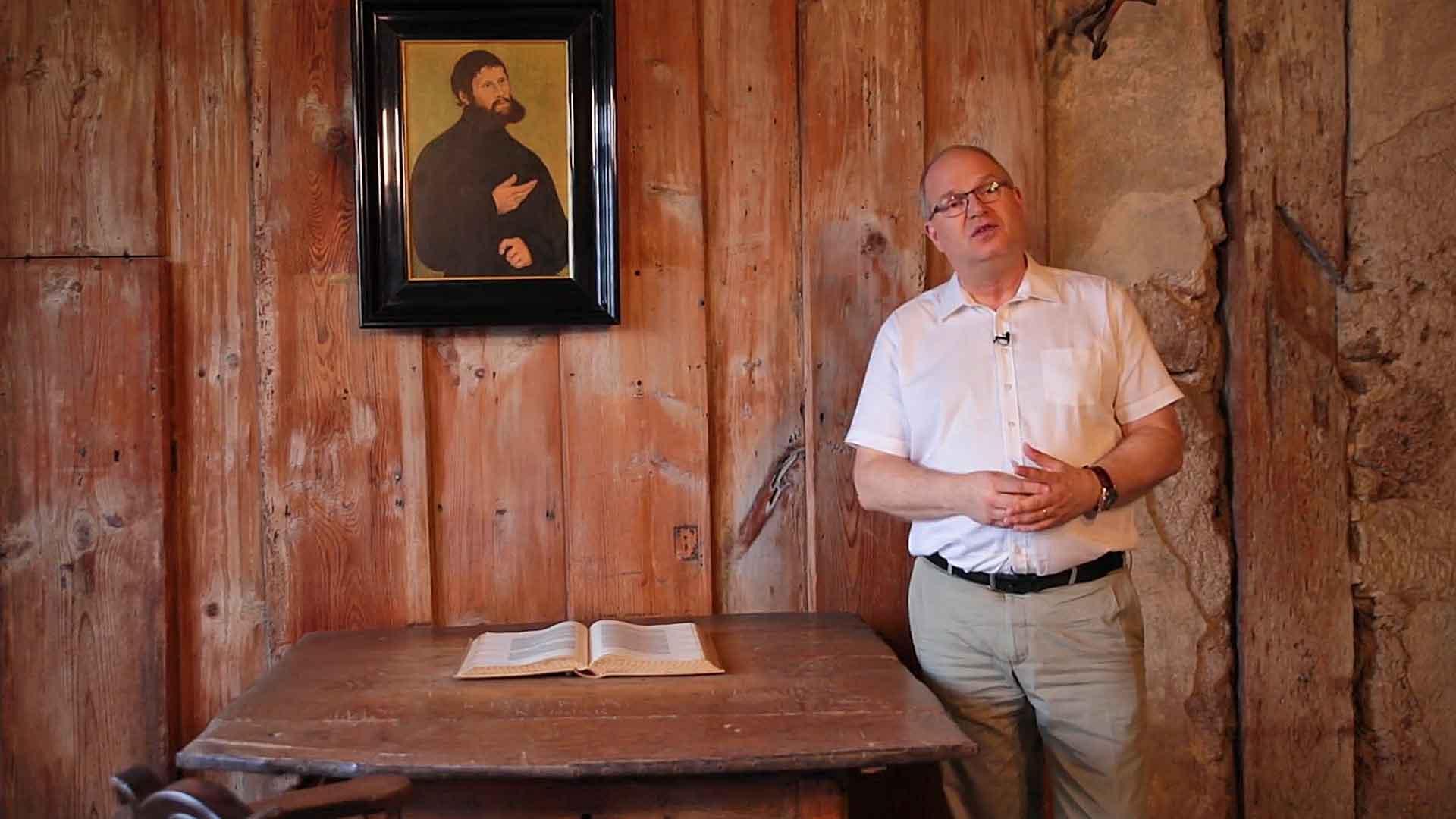 Dr. Martin Luther, Gnade und Irrtum