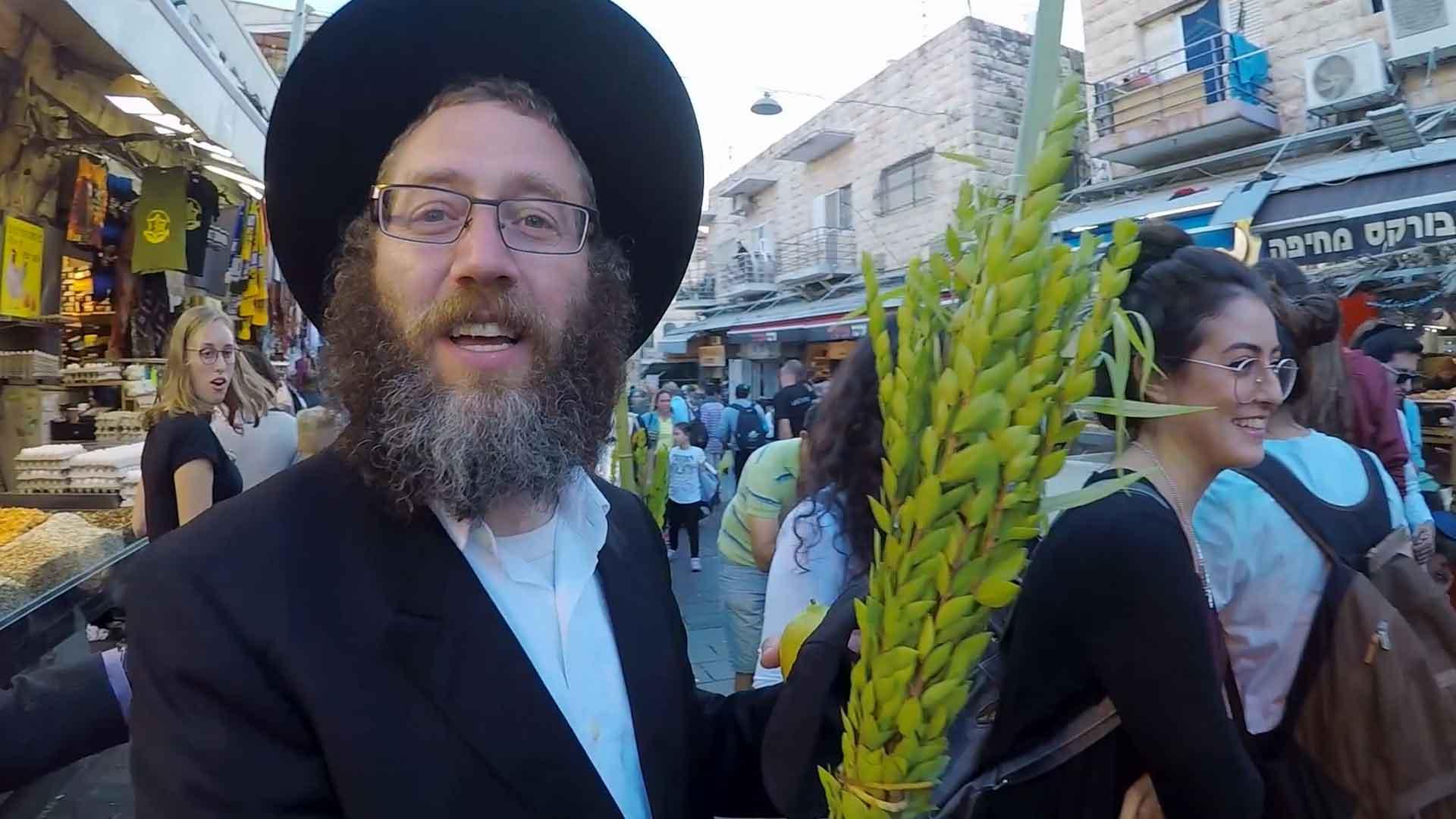 Zu Sukkot nach Jerusalem
